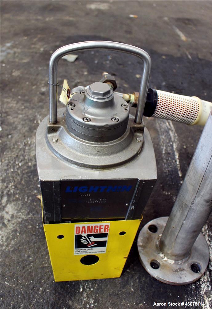 "Used- Watson Metal Masters Pressure Tank, 250 Gallon, 316L Stainless Steel, Vertical. 39-1/4"" Diameter x 42"" straight side, ..."