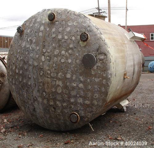Used- 4500 Gallon Stainless Steel Tank, Model 108-VSEDS-5