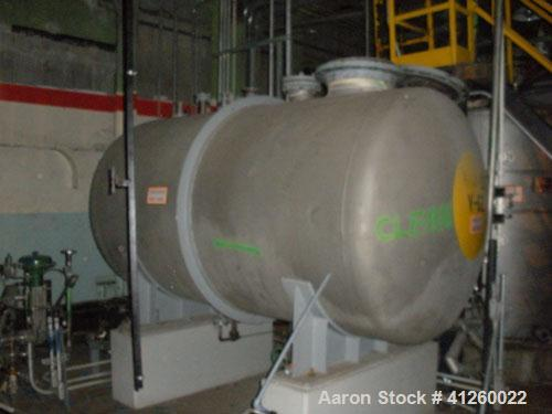 Used-Tank - Stainless Steel, WP 99psi@400degF, DBC LTD, B&R inc. Carbon Steel   TO BE VOIDED