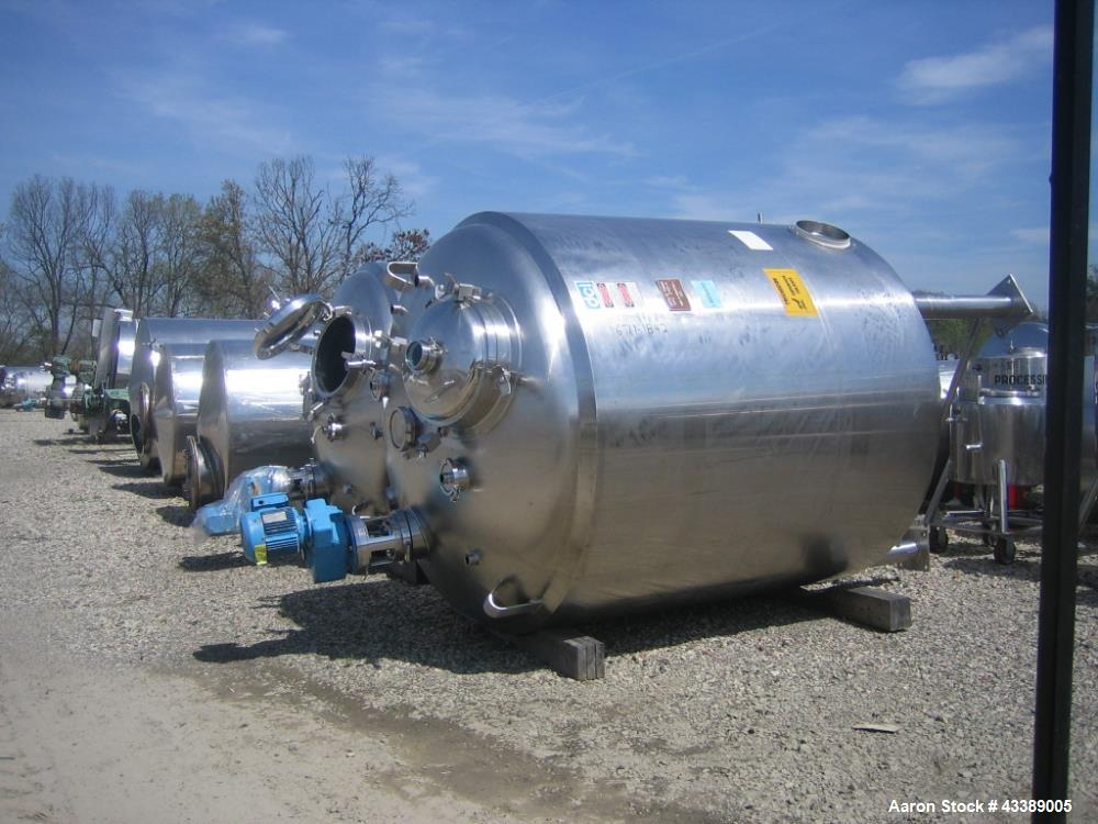 Used- 1000 GAL DCI RECEIVER, S/S 30#