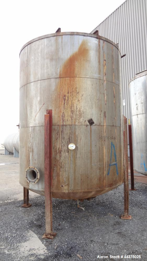 Used- 4000 Gallon 316 Stainless Steel Tank