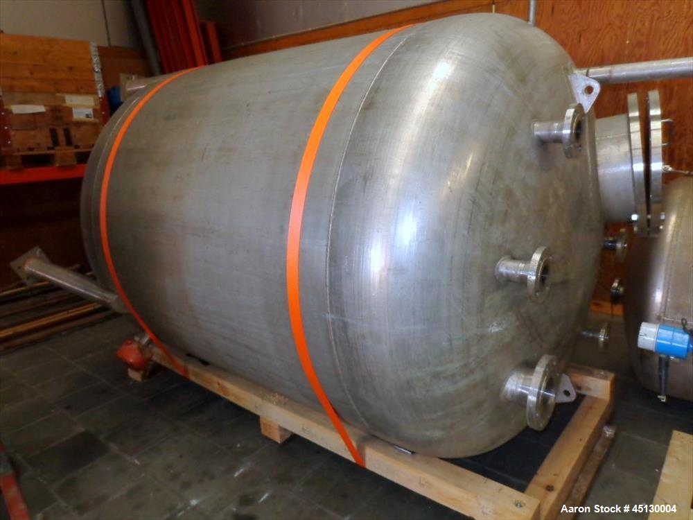 Used- 1137 Gallon Stainless Steel Services LTD tank