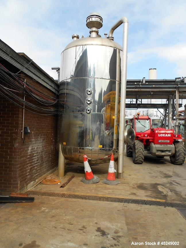 Used- 4497 Gallon Stainless Steel Services LTD Tank