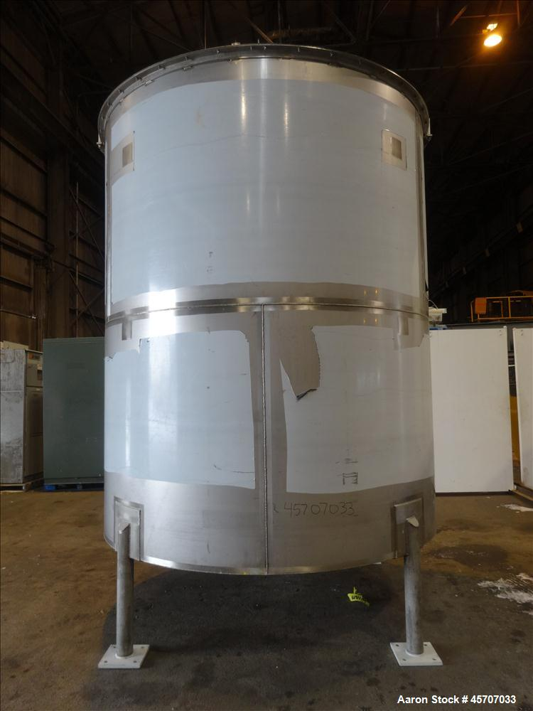 Unused- Bright Sheet Metal Tank, Approximately 4,000 Gallon
