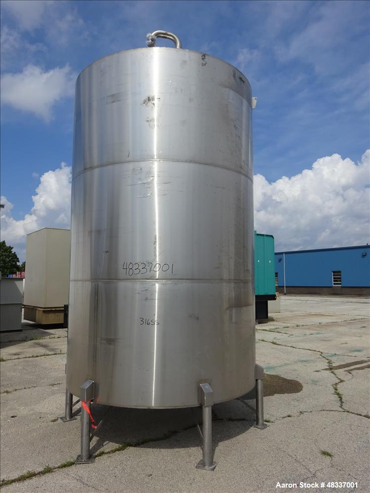Used- Stainless Steel Metals Inc. Approximately 4,000 Gallon Tank