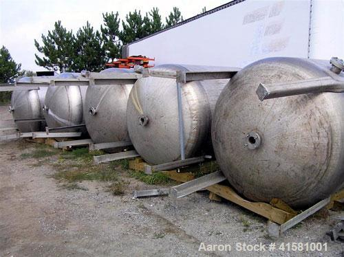 Used-Stainless Steel All-Weld Pressure Carbon Filter Tank