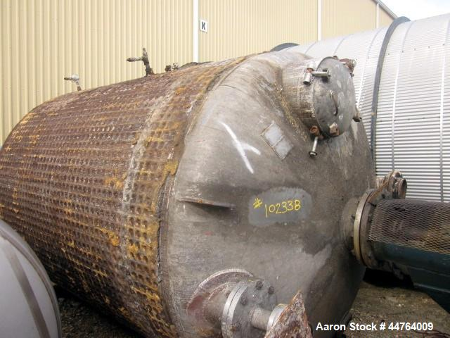 Used- 3000 Gallon Stainless Steel Alpha Tank & Metals Reactor