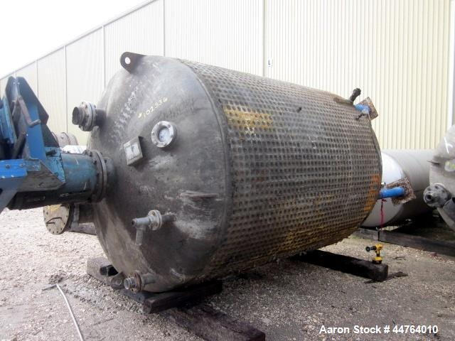 Used- 3000 Gallon 316 Stainless Steel Alpha Tank & Metals Pressure Tank, Model A
