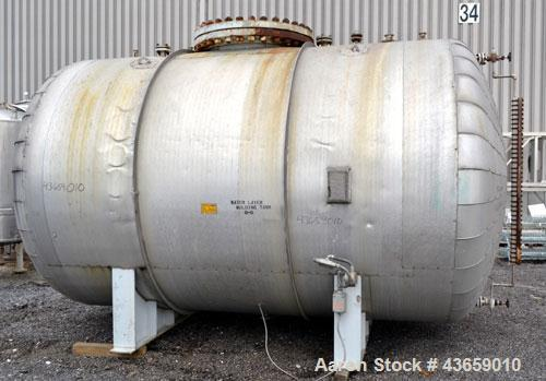 Used- 4700 Gallon Stainless Steel Arrow Tank & Engineering Pressure Tank