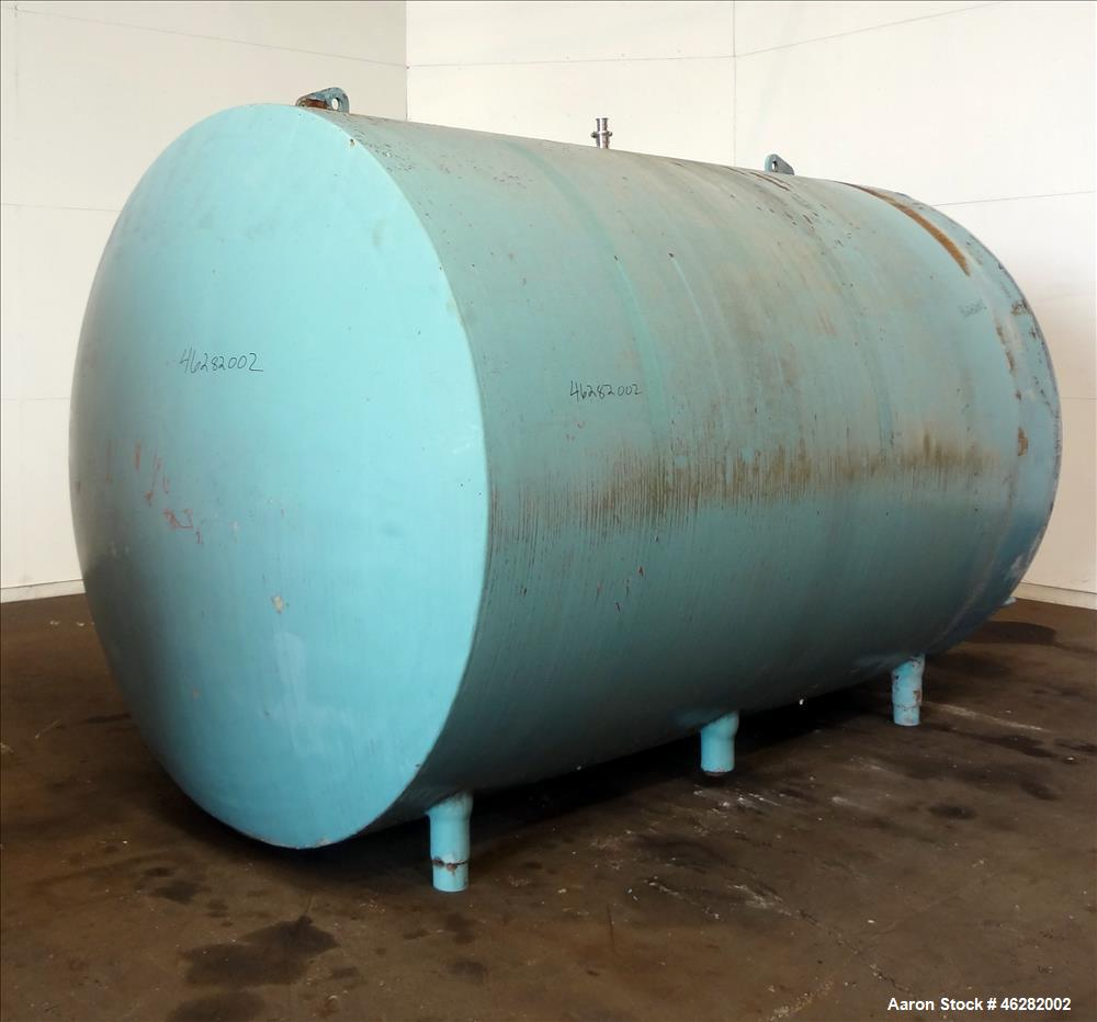 Used- Tank, Approximate 3,000 Gallons, 304 Stainless Steel