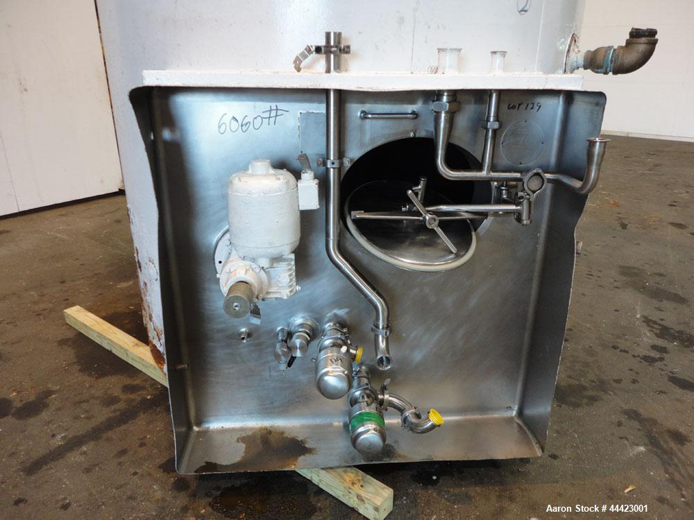 Used- 3000 Gallon Stainless Steel Dairy Craft Tank