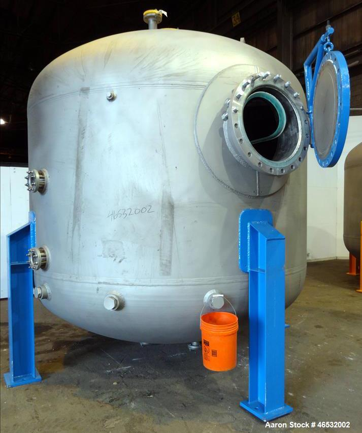 Unused- Graver Water Systems Approximate 4000 Gallon Mixed Bed Vessel Ion Exchange Column Tank. Manufactured by Kennedy Tank...