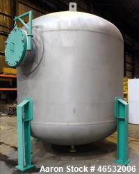 d- Graver Water Systems Approximate 4700 Gallon Cation Vessel Ion Exchange Column Tank. Manufactured...