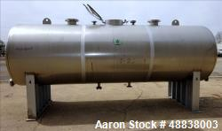 Used- Precision Tank And Equipment Company Tank, Approximate 2,200 Gallon, 304 S