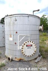 "Used- Troy Boiler Works API Standard 650 Tank, 3000 Gallon, 316 Stainless Steel, Vertical. Approximate 96"" diameter x 96"" st..."