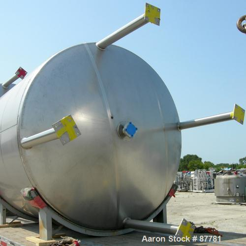 "Unused-NEW: Mueller tank, 3000 gallon, 304/304L stainless steel, vertical. 96"" diameter x 86"" straight side. Dished top and ..."