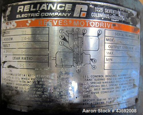 """Used- Stapco Tank, 3200 Gallon, 304 Stainless Steel, Vertical. Approximately 84"""" diameter x 130"""" straight side, open top wit..."""