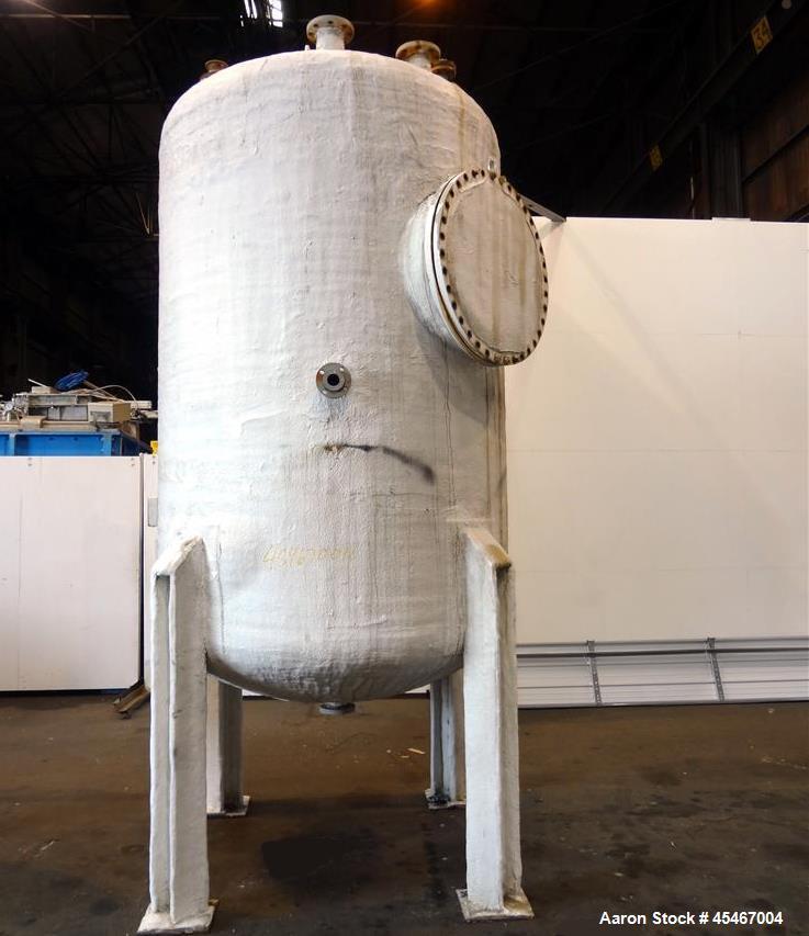 Used- 1850 Gallon Stainless Steel Steel-Pro Pressure Tank