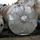 Used- Harris Tanks Pressure Tank, 4500 Gallon, 316L Stainless Steel, Horizontal. 72