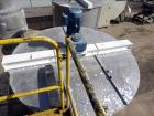 Used- Bright Sheet Metal Tank, Approximately 4,000 Gallon, 304 Stainless Steel, Vertical. 100