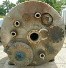 Used- Apache Stainless pressure tank, 1000 gallon, 304L stainless steel, vertical. 66