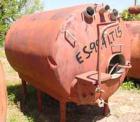 Used- Cherry Burrell Tank, 1500 Gallon, Stainless Steel, Horizontal. 72