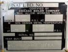 Used- Chicago Boiler Company Pressure Tank, 8000 Gallon, 304L Stainless Steel, Horizontal. 114