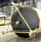 "Used- Custom Metalcraft Tank, 4,476 Gallon, 304 Stainless Steel, Vertical. Approximately 98"" diameter x 120"" straight side, ..."