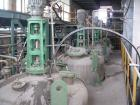Used- Kotobuki Tank, 1058 Gallon (4000 liter), stainless steel, vertical. Sumitomo motor 2 x 5.5 kw (7.5 hp) and 4 x 3.5 kw ...