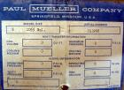 Used- Mueller Tank, 1055 Gallon, 304 Stainless Steel, Vertical. Approximate 76