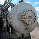 Used- Hebeler Pressure Tank, 1120 Gallons, 316L Stainless Steel, Horizontal. 54'' diameter x 96'' straight side, 2 to 1 elli...