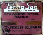 Used- Perma-San Tank, 2000 Gallon, Model CVC, 304 Stainless Steel Vertical. 84