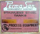 Used- Perma-San Tank, 2000 Gallon, Model CVC, 304 Stainless Steel Vertical. 84