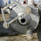 USED: Reimelt pressure tank, 1849 gallon (7000 liter), 304 stainless steel, vertical. 64