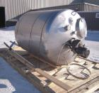 Used- Walker Stainless Tank, 1000 Gallon, 316 Stainless Steel, Vertical.  66