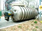 Used: Walker Stainless pressure tank, 3000 gallon, stainless steel, vertical. Approximately 72