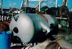 "Used- Wyatt Pressure Tank, 1590 Gallon, 304L Stainless Steel, Vertical. 60"" diameter x 123"" straight side, dished top and bo..."