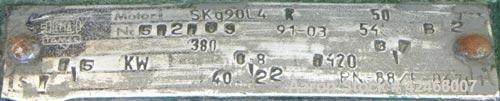 "Used-Tank, 600 Gallon, 304 Stainless Steel, Vertical. 39"" diameter x 120"" straight side, Slight dish top, flat bottom. 2 1/2..."
