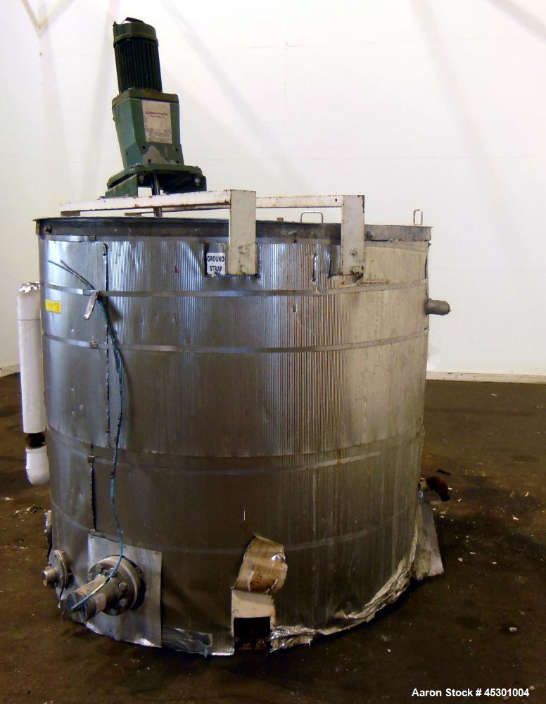 Used- 750 Gallon Stainless Steel Tank, Model NLDG-300