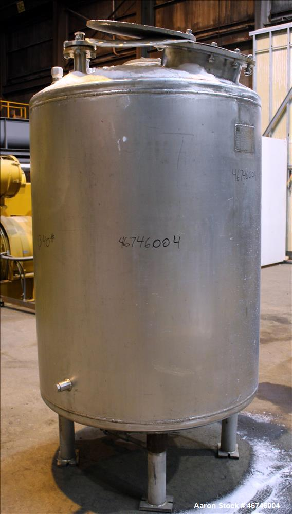 Used- Merck & Co. Inc. Tank, Approximately 500 Gallon, 316L Stainless Steel, Ver