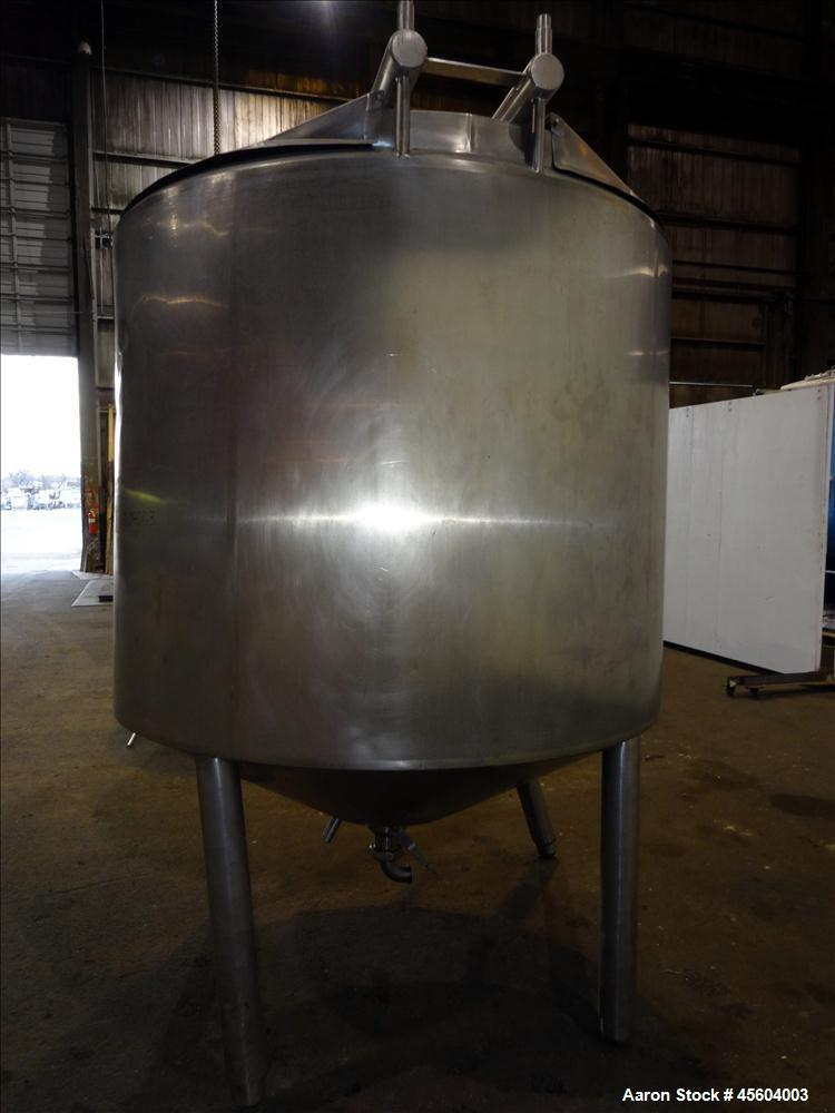 Used- 875 Gallon Stainless Steel Cherry Burrell Processor/Kettle