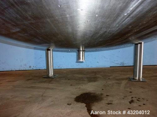 "Used- Cherry Burrell Tank, 750 Gallon, Stainless Steel, Vertical.  60"" Diameter x 55-1/2"" straight side, dished top and bott..."