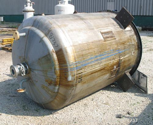 Used- 900 Gallon Stainless Steel H. Pontifex and Sons Jacketed Mix Tank, Model X