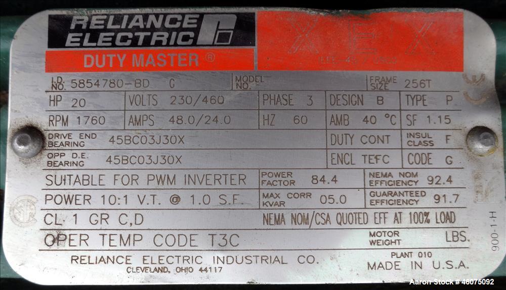 "Used- Hebeler Pressure Tank, 700 Gallon, 304L Stainless Steel, Vertical. 48"" Diameter x 81"" straight side, 2:1 elliptical to..."