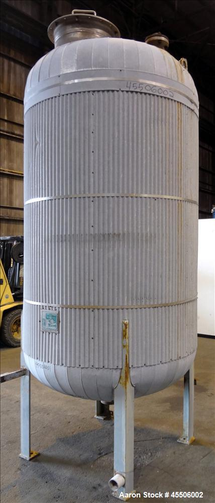 Used- 875 Gallon Stainless Steel Quality Containment Company Tank