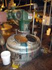 Used-Roben Mix Tank, 750 Gallon, Stainless Steel. Dish top and bottom, 5'