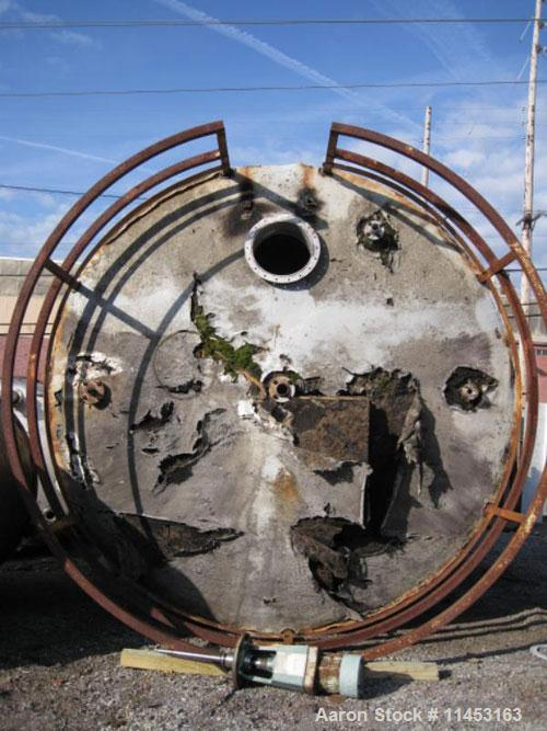 Used-16,900 Gallon Stainless Steel Storage Tank