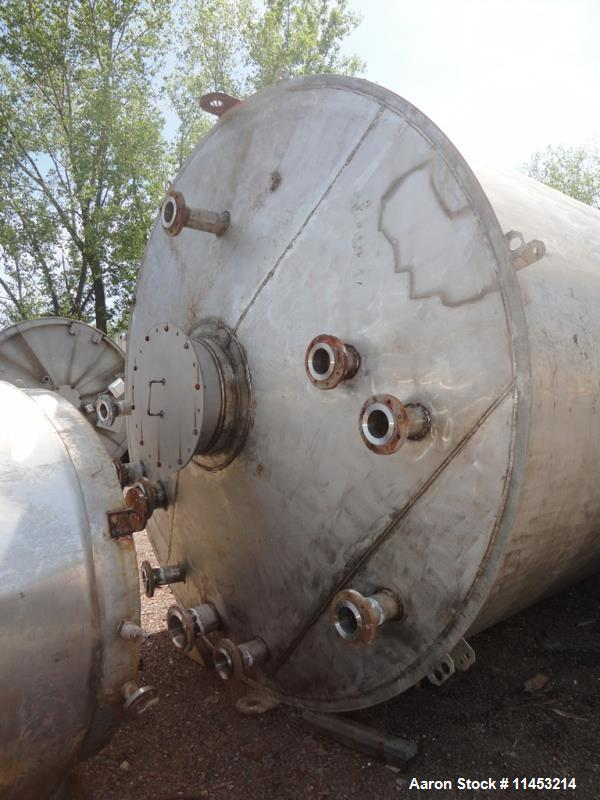 Used- 15000 Gallon Stainless Steel Storage Tank