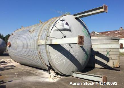 Used- Recon South Carolina, 19,500 Gallon (approximately) Stainless Steel Vertical Tank. 12' diameter x 23' high straight si...