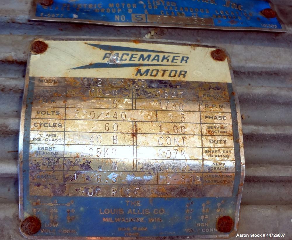 Used- 13,000 Gallon Stainless Steel Harris Pressure Tank